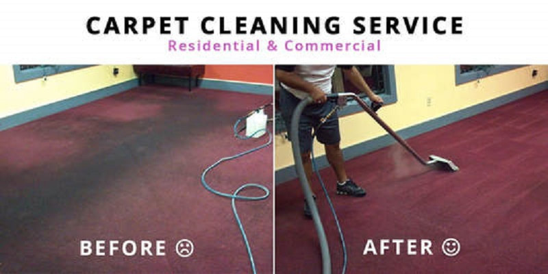 wall-to-wall carpet cleaning services